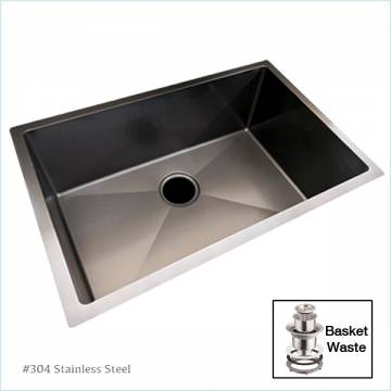 Atrix 5845BK Nano Black Kitchen Sink